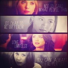 Things you learn from Pretty Little Liars. (: