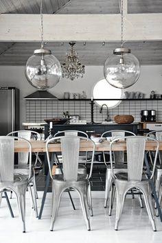 home inspiration: INDUSTRIAL KITCHENS - bellaMUMMA