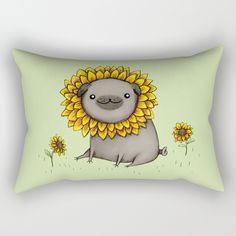 Check out society6curated.com for more! @society6 #illustration #home #decor #homedecor #interior #design #interiordesign #buy #shop #shopping #sale #apartment #apartmentgoals #sophomore #year #house #fun #cool #unique #gift #giftidea #idea #pillows #funny #pug #pugs #sunflowers #sunflower #flowers #flower #yellow