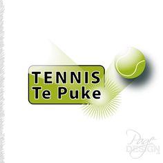 Logo design for Tennis Te Puke, Te Puke, NZ