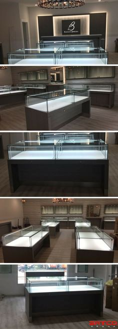 Baribault Jewelers. Manufacture & Design of Store Fixtures by Artco Group.