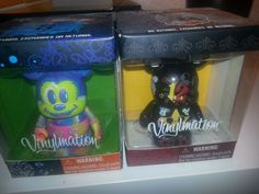 selling Disney 2 x Mickey Mouse Vinylmation Collectors Limited Edition