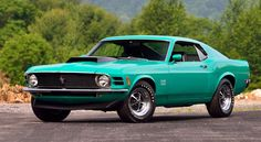 A 1970 Ford Mustang Boss 429 is one of the star cars in Harrisburg | David Newhardt/Mecum