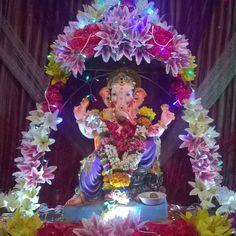 New pin for Ganpati Festival 2015 is created by by ashwinics with #GanpatiBappa of #HirayCollege #Bandra