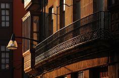 Durango´s balcony. Basque Country