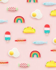 DIY Clay Barrettes (Oh glücklicher Tag! Diy Fimo, Polymer Clay Crafts, Diy Clay, Polymer Clay Jewelry, Clay Earrings, Crafts For Kids, Arts And Crafts, Diy Crafts, Clay Art For Kids