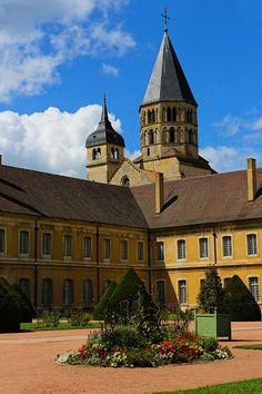Abbaye de Cluny   por imagina (www.giuseppemoscato.com) Bourgogne, Fr.