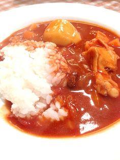 ご飯より、ルーたくさんが好き - 11件のもぐもぐ - チキンカレー by imotomochi