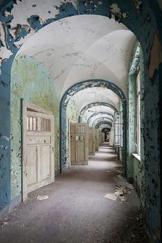 Abandoned TB hospital in Germany