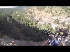AVA's Idaho Springs Colorado Zipline Tour: Line #2!