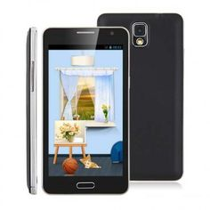 JIAKE N900W smartphone use 5.5 inch screen, with MTK6582 quad core 1.3GHz processor, has 1GB RAM, 4GB ROM, 2MP front + 8MP rear double camera, and installed Android 4.2 OS.