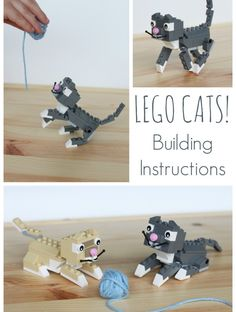 LEGO Cats! Building Instructions