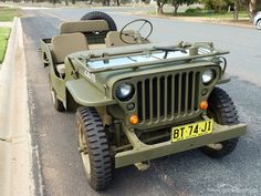 Old Jeep, Jeep Tj, Jeep Wrangler, Auto Jeep, Military Jeep, Military Vehicles, Willys Mb, Offroader, Autos