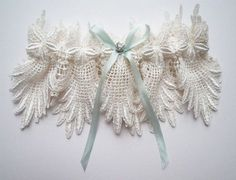 Eden lace garter by florriemitton on Etsy