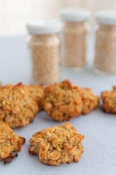 Galletas de quinua y naranja | Galletas para matilde