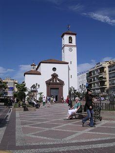 Plaza de la Constitución, Fuengirola, España.