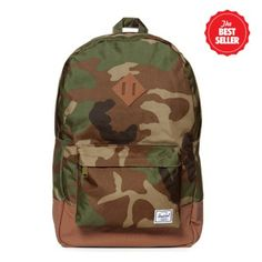 Heritage Backpack Woodland Camo - Backseries