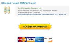 Achat De Mefenamic acid Pas Cher