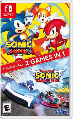 Date And Switch, Playstation, Sonic & Knuckles, Mode Unique, Classic Sonic, Sonic Mania, 8 Bits, Sonic Adventure, Mario Kart 8