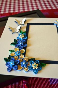 Quilling Ideas: Picture Frame