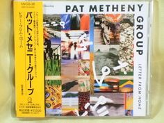 CD/Japan- PAT METHENY GROUP Letter From Home w/OBI RARE EARLY 1991 MVCG-38 #ContemporaryJazzFusion