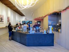 One of our most favourite coffee shops in The Mission is the recently renovated Ritual Coffee original. Beautiful design, great coffee and awesome service all around!