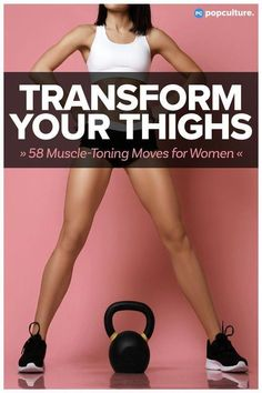 AT HOME WORKOUT: 58 Game-Changing Exercises That'll Transform Your Thighs Fast! Try our best collection of exercises that will tone, strength and slim your lower half! body 58 Game-Changing Exercises That'll Transform Your Thighs Fitness Motivation, Fitness Routines, Fitness Diet, Health Fitness, Fitness Exercises, Thigh Workouts, Fitness Logo, Face Exercises, Stomach Exercises