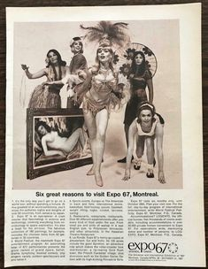 Expo 67, World's Fair, Track And Field, Print Ads, Montreal, Tours, The Originals, Movie Posters, Free