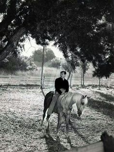 On his ranch 1940