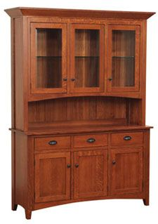 33% OFF Amish Furniture - Hand Crafted Shaker and Mission Furniture Online Outlet Store: Sara Ann Hutch: Oak