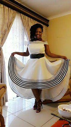Xhosa girl African Print Dress Designs, African Print Dresses, African Print Fashion, Africa Fashion, African Fashion Dresses, African Dress, African Wedding Attire, African Attire, African Wear