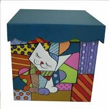 Resultado de imagen para cajas de te pintadas a mano Painted Wooden Boxes, Hand Painted Furniture, Funky Furniture, Diy Gift Box, Diy Box, Ceramic Boxes, Country Paintings, Altered Boxes, Craft Box
