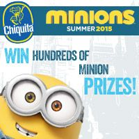 Play fun games to instantly win Minion goodies or a trip to London. Sweepstakes ends August 15th so visit now!