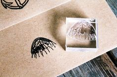 Jellyfish Stamp