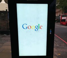 Huseyin Savas shared a set of photos on Google+ of a new ad he spotted on a bus stand in London.  As you can see, the ad cycles through a set of mobile searches, as if it is a big smartphone.  Here ar