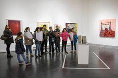 """Visita a """"Colección MAC: Obras Seleccionadas"""" en MAC Parque Forestal. Mayo de 2016."""