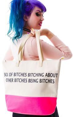 Iron Fist Bitches Tote Bag | Dolls Kill