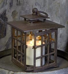 lanterns for candles | If we consider our souls as old lanterns, with a candle in the center ...