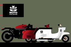 Vectors - Moto by Jackkrit Anantakul available at YouWorkForThem.