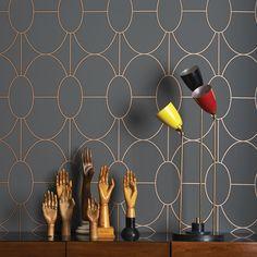 Cole and Son Geometric II Riviera Wallpaper | 105-602 | £76.00                                                                                                                                                                                 More