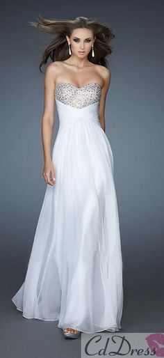 Love it but probably in a different color or its too wedding like