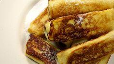 Himmlisch lecker! Rezept für süße Nutella French Toast Rolls