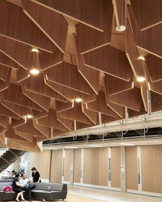 Melbourne School of Design lighting design by Electrolight