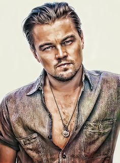 Leonardo Dicaprio by *anish-11k on deviantART {digital art}