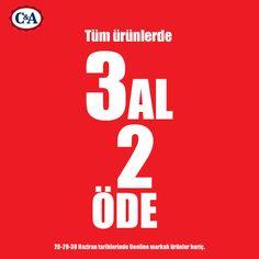C Mağazaları haziran 2013 3 al 2 öde kampanyası