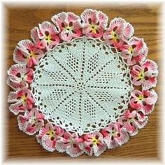 Ravelry: Pansy Doily pattern by American Thread Company