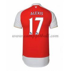 Arsenal Fotballdrakter 2016-17 Alexis 17 Hjemmedrakt