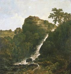 Buy made to order art prints from Art UK Shop Lydford Waterfall, Tavistock Landscape Art, Landscape Paintings, Richard Wilson, Tavistock, England, Art Uk, City Art, National Museum, Printing Services