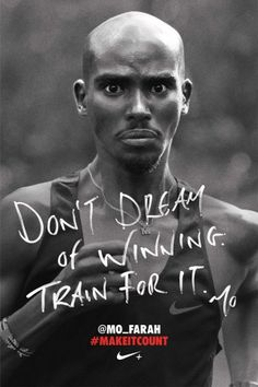 Mo Farah. Creative Director: Guy Featherstone & Darren Wright. Agency: Welden & Kennedy. Client: Nike