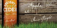 Speight's Cider Dow Design Magazine Design, Most Popular Beers, Brand Identity, Branding, Beer Garden, Brand Design, Package Design, Typography Design, New Zealand